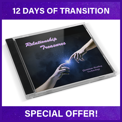 12 days of Transition Special - Relationship Treasures