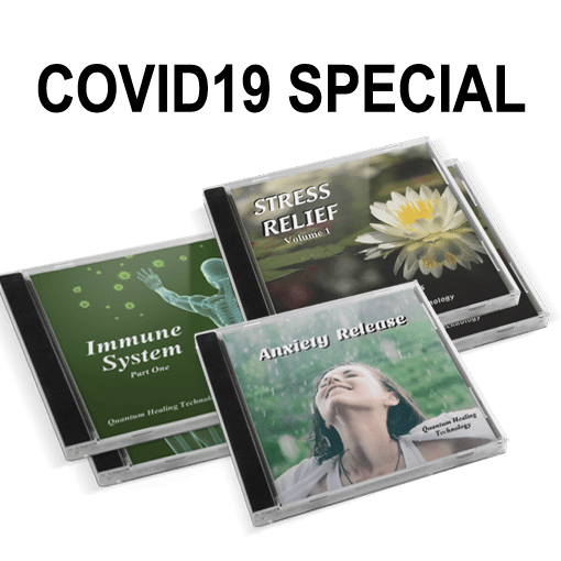 Diamond Crystal Music's COVID19 Special Bundle of Healing Music CDs that Include Immune System, Anxiety Release and Stress Relief
